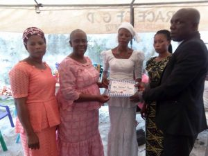 Christ Orphanage 2018 empowerment, collection of certificates & starter kits